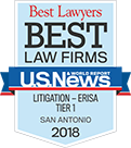 Best Lawyers | Best Law Firms | U.S.News & World Report | Litigation - ERISA | Tier 1 | San Antinio | 2018